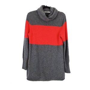 Athleta | Red Stripe Chalet Cashmere Sweater XL